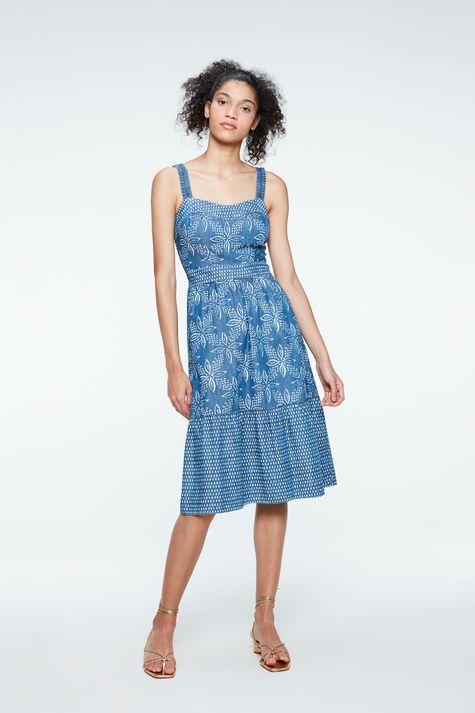 Vestido-Jeans-Midi-com-Estampa-Floral-Detalhe-1--