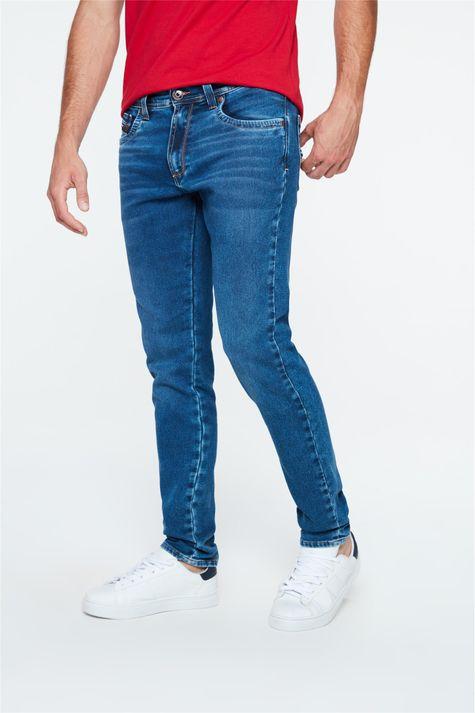 Calca-Jeans-Azul-Escuro-Skinny-Masculina-Detalhe-1--