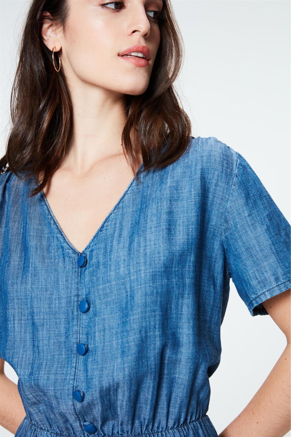 Vestido-Jeans-Midi-Franzido-Soltinho-Detalhe--
