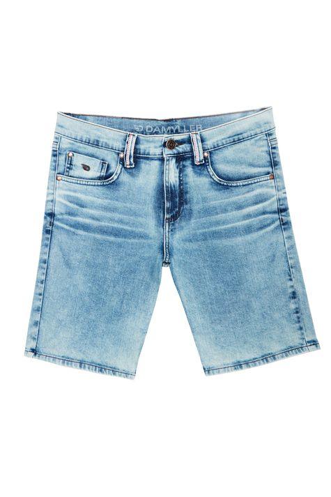 Bermuda-Jeans-Claro-Skinny-Masculina-Detalhe-Still--