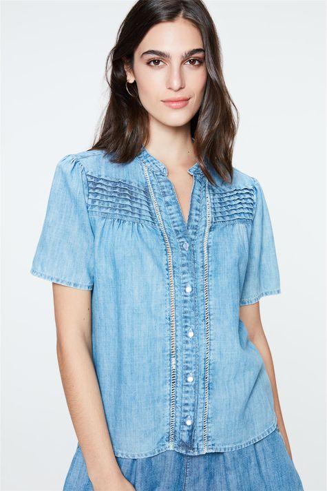 Camisa-Jeans-com-Babado-e-Franzidos-Frente--