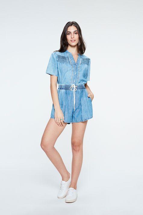 Camisa-Jeans-com-Babado-e-Franzidos-Detalhe-1--