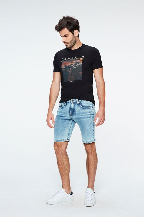 Bermuda-Jeans-Claro-Skinny-Masculina-Frente--