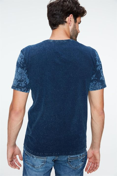 Camiseta-de-Malha-Denim-com-Estampa-Costas--