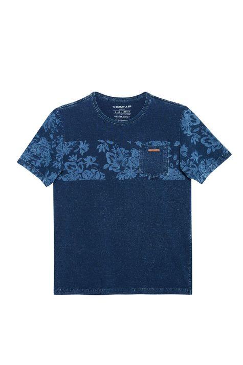 Camiseta-de-Malha-Denim-com-Estampa-Detalhe-Still--