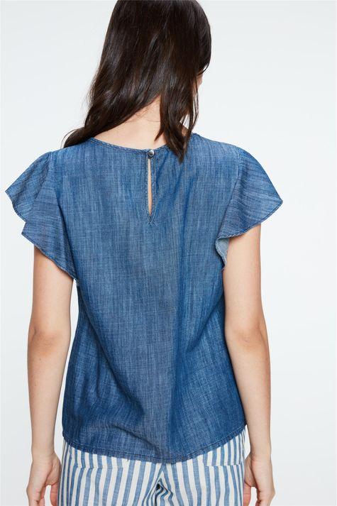 Blusa-Jeans-com-Mangas-de-Babados-Costas--