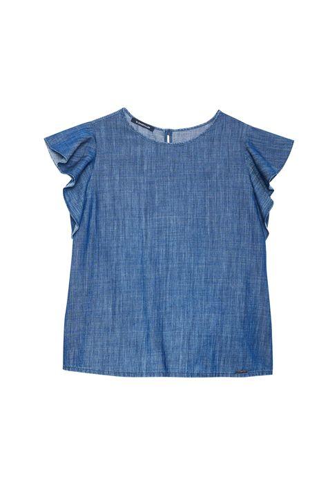 Blusa-Jeans-com-Mangas-de-Babados-Detalhe-Still--