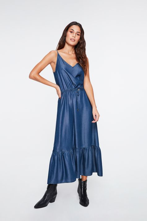 Vestido-Jeans-Midi-Franzido-na-Cintura-Costas--