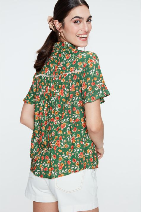Camisa-Estampada-Floral-Feminina-Costas--
