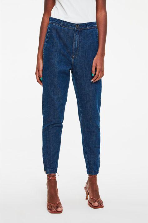 Calca-Jeans-Chino-Cropped-Cintura-Alta-Detalhe--
