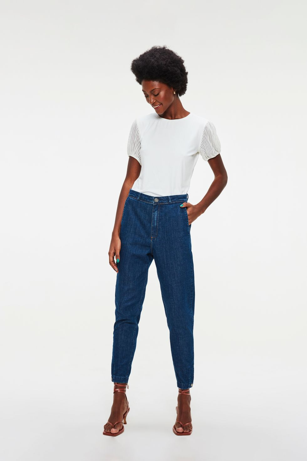 Calca-Jeans-Chino-Cropped-Cintura-Alta-Frente--