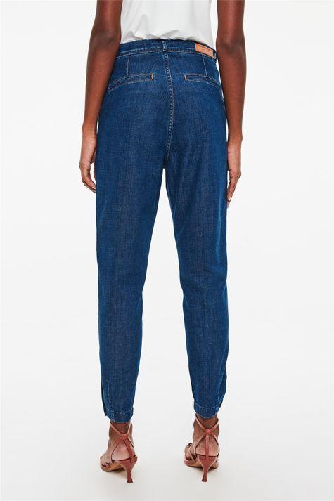 Calca-Jeans-Chino-Cropped-Cintura-Alta-Costas--