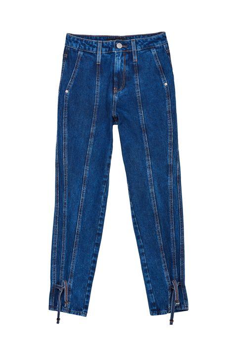 Calca-Jeans-Cropped-de-Cintura-Altissima-Detalhe-Still--