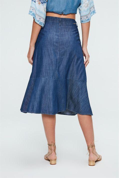 Saia-Jeans-Midi-Com-Abotoamento-Frontal-Costas--