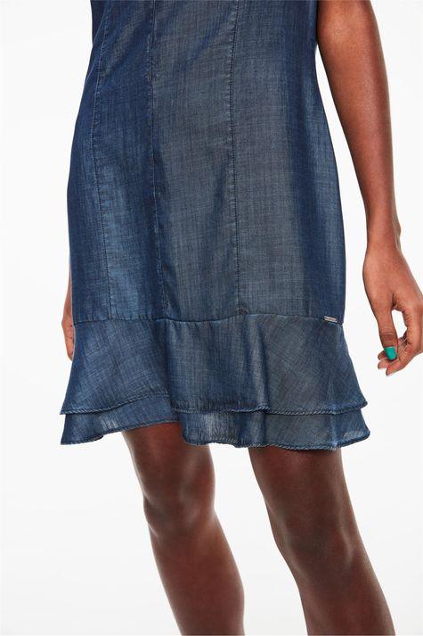 Vestido-Jeans-Medio-com-Babados-Detalhe--