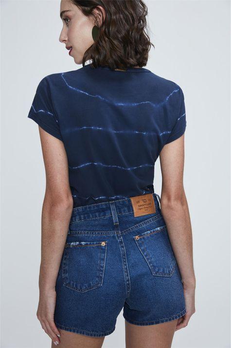 Short-Jeans-Medio-de-Cintura-Alta-Costas--