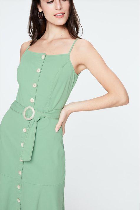 Vestido-Midi-com-Abotoamento-e-Cinto-Detalhe--
