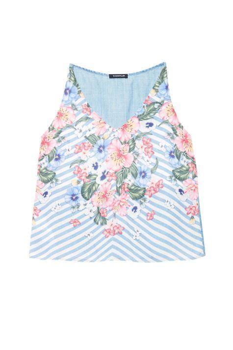 Blusa-Jeans-Sem-Mangas-Estampa-Floral-Detalhe-Still--