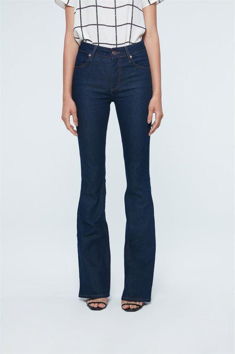 Calca-Jeans-Boot-Cut-de-Cintura-Alta-Frente--