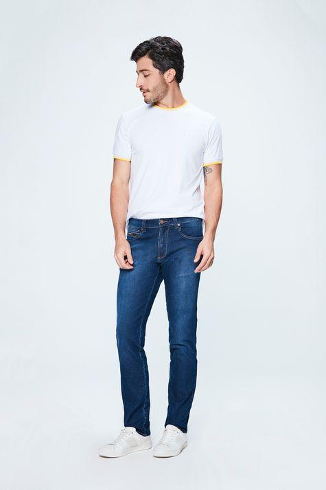 Calca-Jeans-Escuro-Slim-Masculina-Detalhe-1--