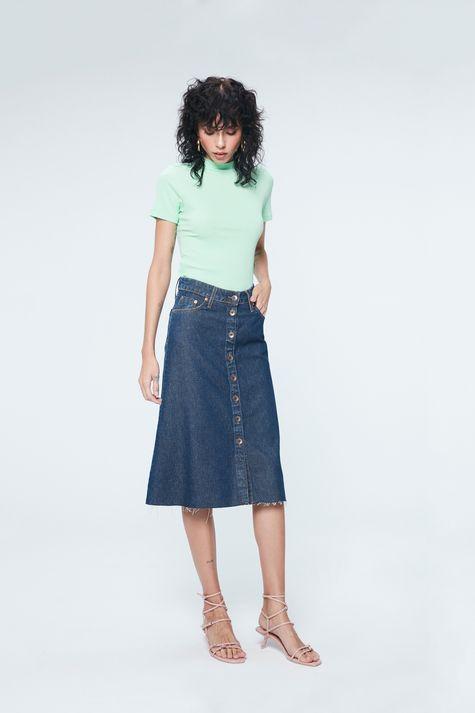 Saia-Jeans-Midi-Evase-com-Abotoamento-Detalhe-1--
