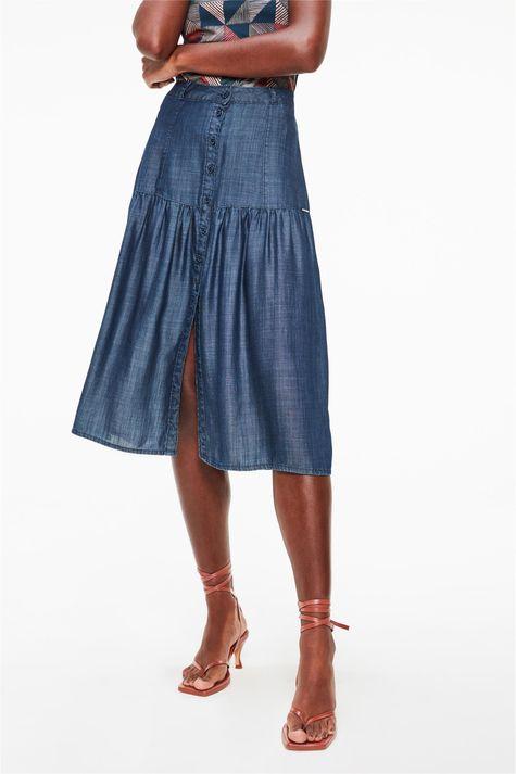 Saia-Midi-Jeans-com-Franzido-Detalhe--
