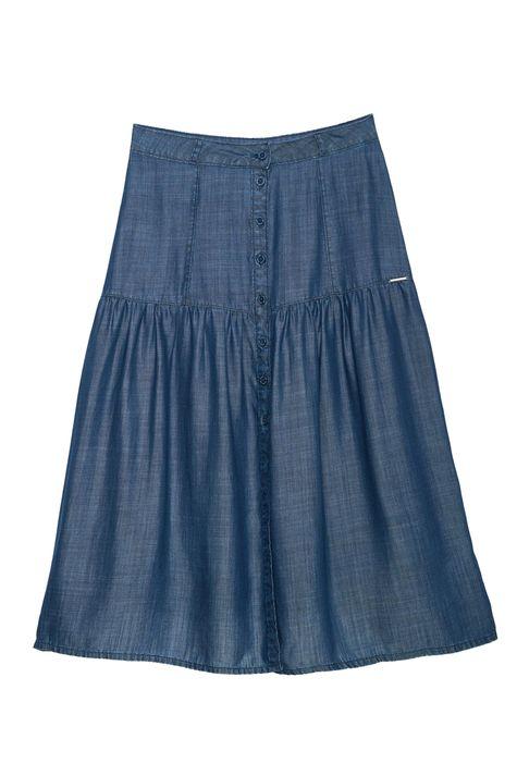 Saia-Midi-Jeans-com-Franzido-Detalhe-Still--