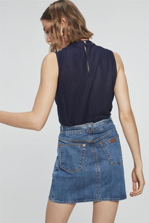 Saia-Jeans-Mini-com-Ziper-e-Amarracao-Costas--