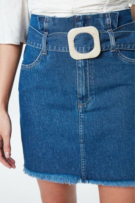 Saia-Jeans-Mini-Clochard-com-Fivela-Detalhe--