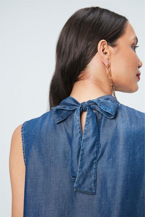 Blusa-Jeans-com-Amarracao-na-Gola-Detalhe--