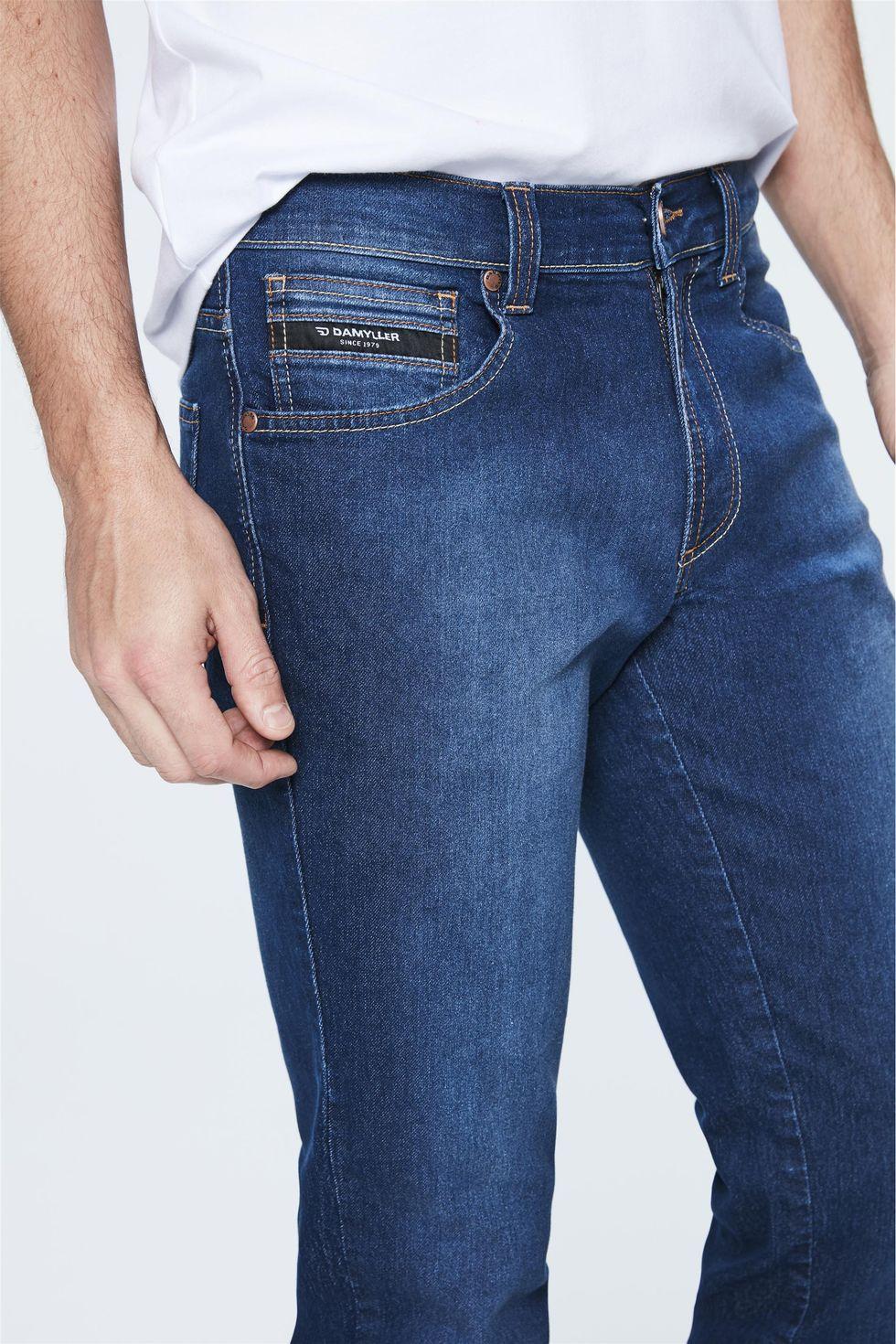 Calca-Jeans-Escuro-Slim-Masculina-Frente--