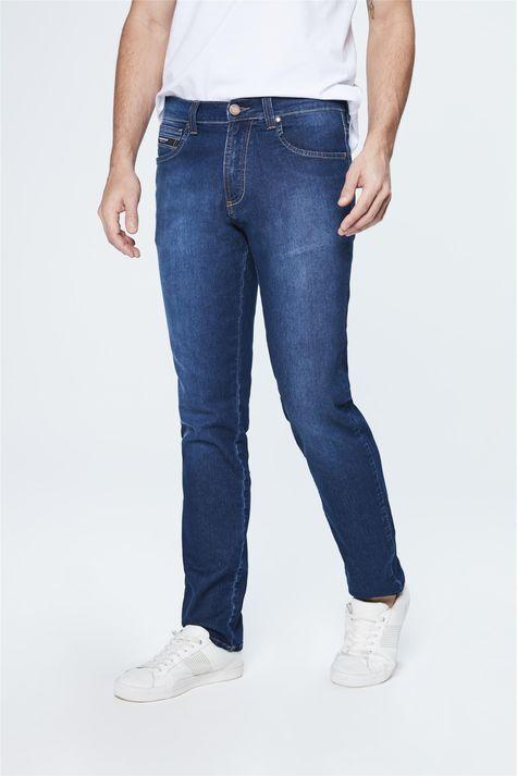 Calca-Jeans-Escuro-Slim-Masculina-Costas--