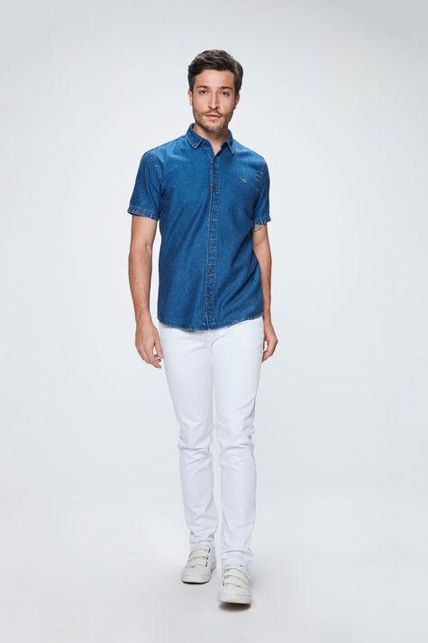 Camisa-Manga-Curta-Jeans-Masculina-Detalhe-1--