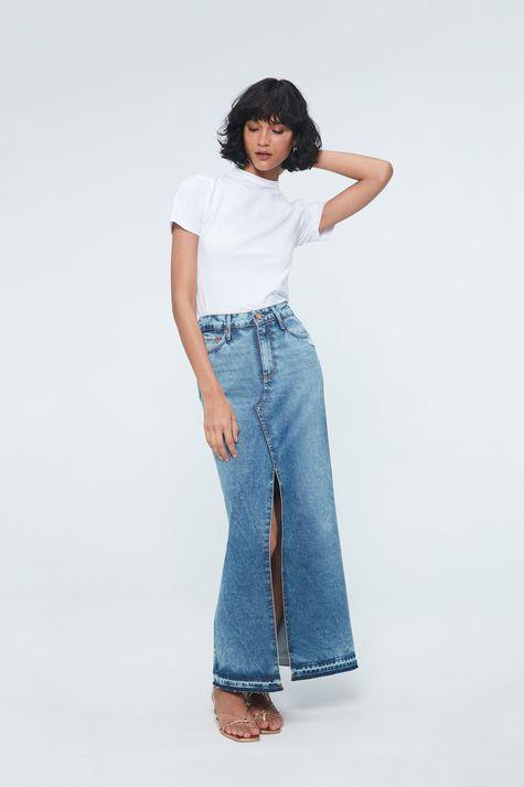Saia-Jeans-Longa-com-Fenda-Frontal-Frente--