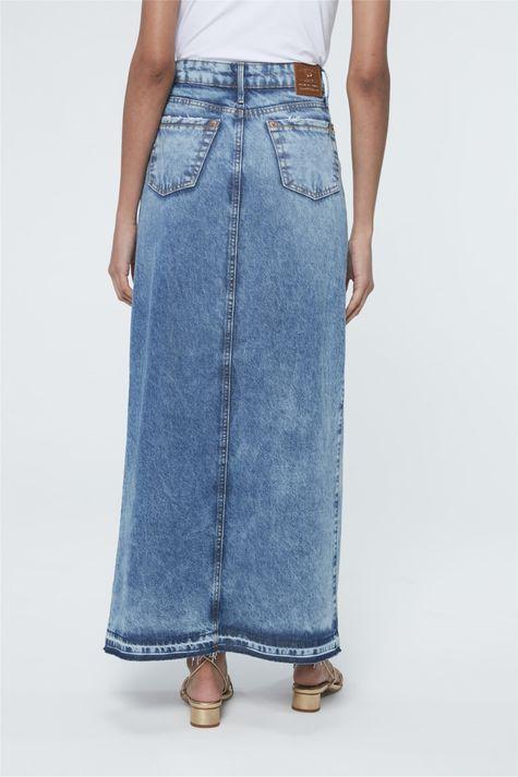 Saia-Jeans-Longa-com-Fenda-Frontal-Costas--