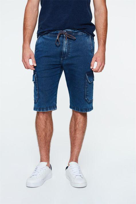 Bermuda-Jeans-Cargo-Masculina-Detalhe-1--