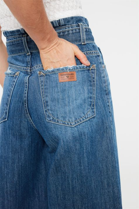 Calca-Jeans-Pantacourt-Cintura-Alta-Detalhe-2--