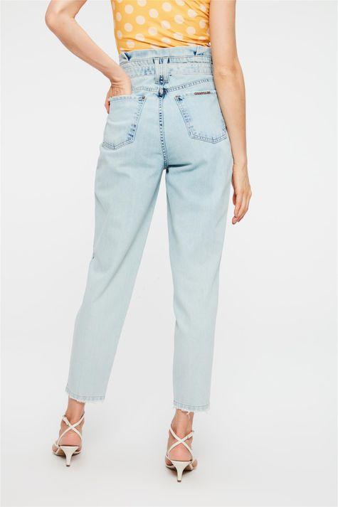 Calca-Jeans-Azul-Claro-Clochard-Cropped-Costas--