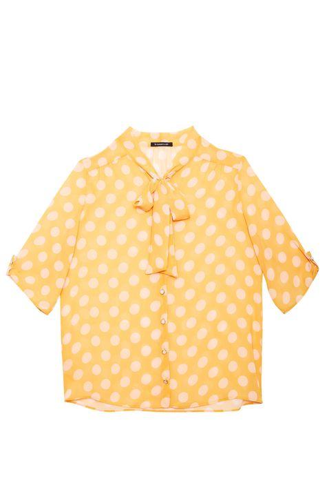 Camisa-Estampa-de-Poa-e-Transparencia-Detalhe-Still--