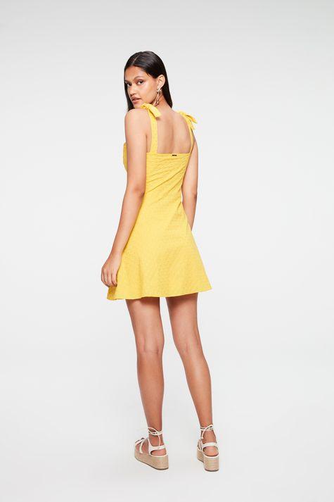 Vestido-Mini-de-Laise-com-Amarracao-Costas--