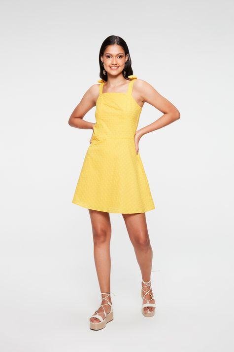 Vestido-Mini-de-Laise-com-Amarracao-Detalhe-1--
