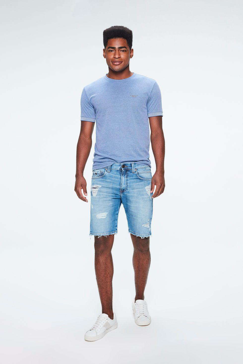 Bermuda-Jeans-Skinny-Rasgada-Masculina-Frente--