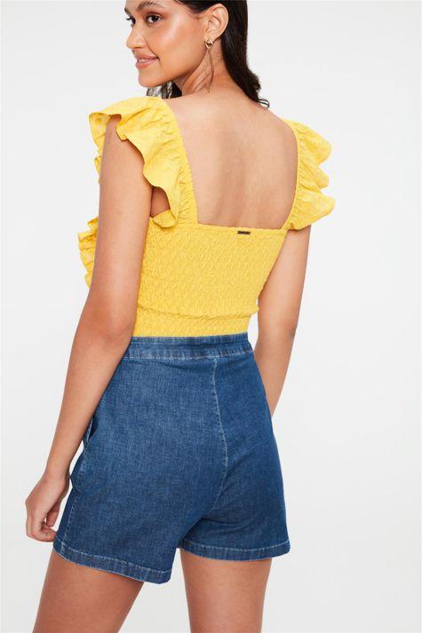 Short-Jeans-de-Alfaiataria-Cintura-Alta-Costas--