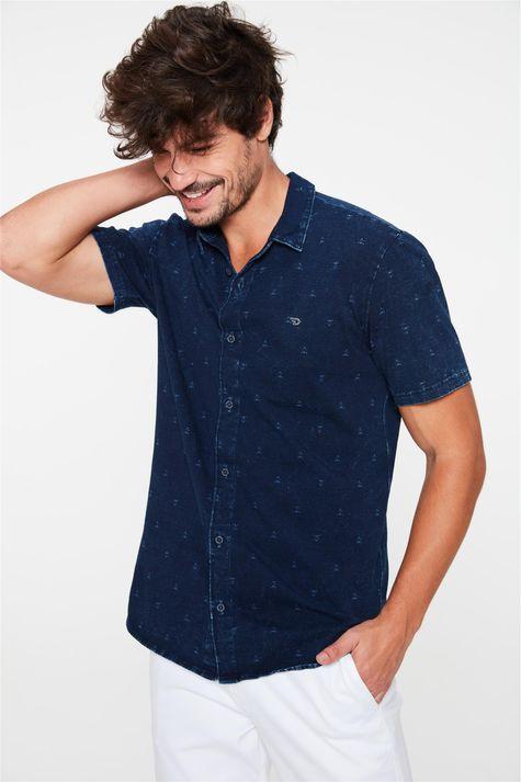 Camisa-de-Malha-Denim-Manga-Curta-Frente--