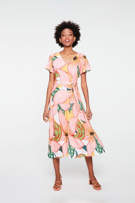 Vestido-Midi-com-Estampa-Floral-Costas--