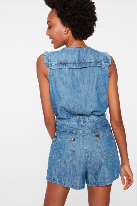Short-Jeans-Mini-Cintura-Alta-com-Pregas-Costas--