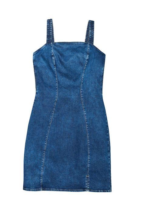 Vestido-Jeans-Medio-com-Recortes-Justo-Detalhe-Still--
