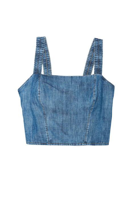 Blusa-Jeans-de-Alca-Cropped-com-Lastex-Detalhe-Still--