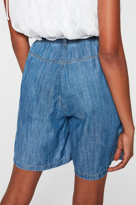 Bermuda-Jeans-Clochard-Cintura-Alta-Detalhe-1--