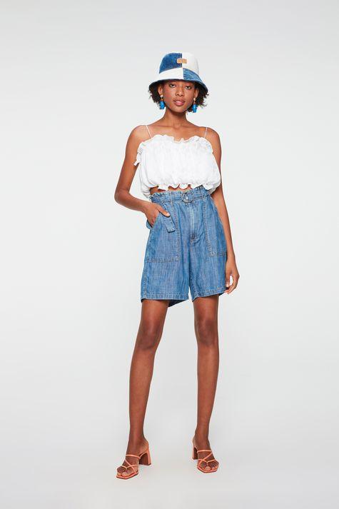 Bermuda-Jeans-Clochard-Cintura-Alta-Detalhe-2--